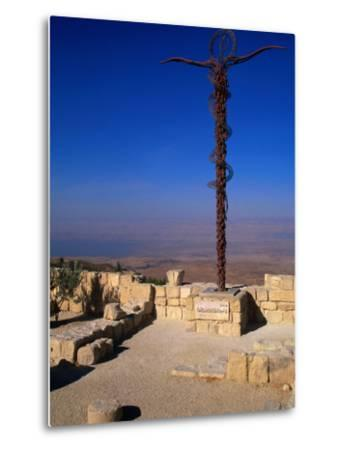 The Serpent and Cross Monument on the Summit of Mt. Nebo, Mt. Nebo, Jordan