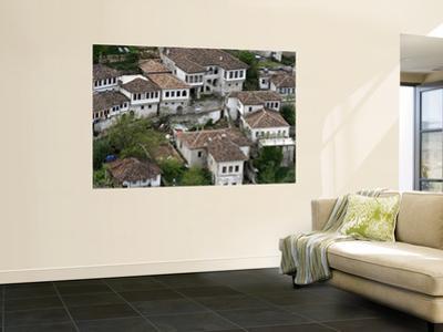 White-Walled and Terracotta Tiled Houses on Hillside