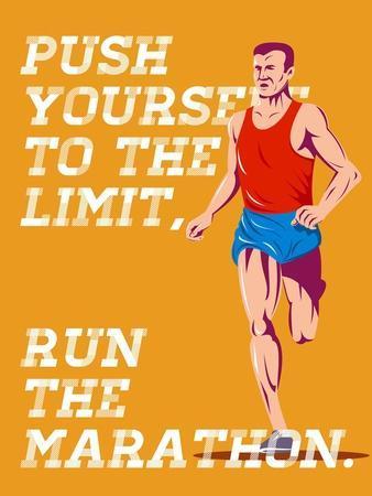 Marathon Push to the Limit Poster