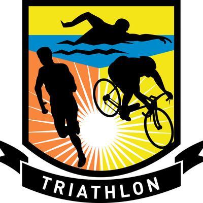 Triathlon Run Swim Bike Shield