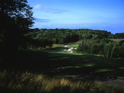 Patriot Hills Golf Club, Hole 1-Stephen Szurlej-Premium Photographic Print