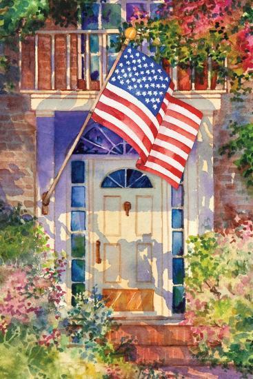 Patriotic Home-Kathleen Parr McKenna-Art Print