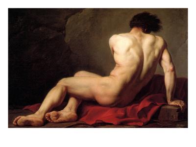 Patroclus-Jacques-Louis David-Art Print
