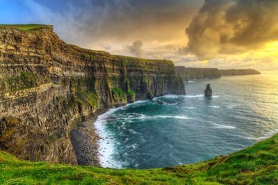Cliffs of Moher at Sunset, Co. Clare, Ireland by Patryk Kosmider