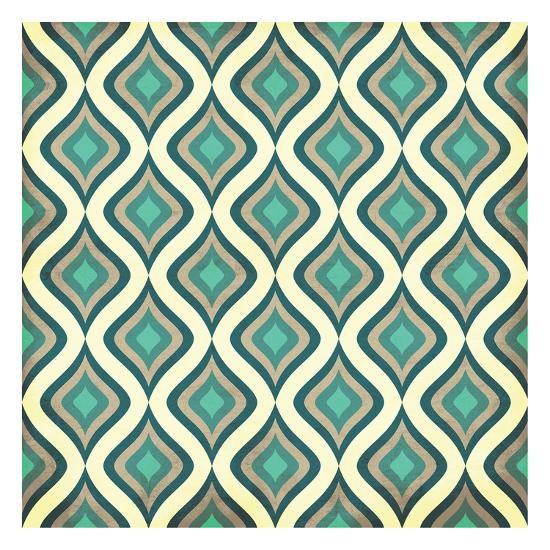 Pattern 1-Jace Grey-Art Print