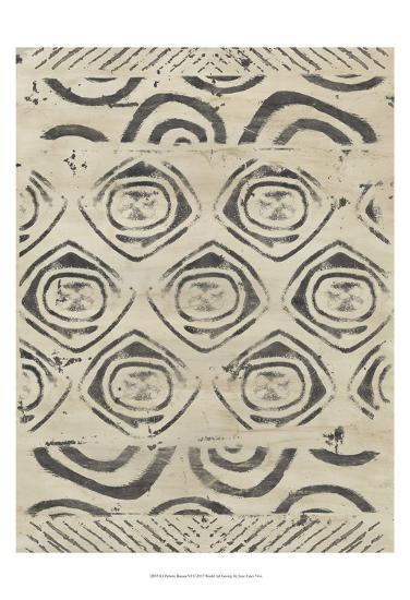 Pattern Bazaar VI-June Erica Vess-Art Print