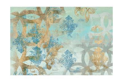 Pattern Construct I-Jennifer Goldberger-Art Print