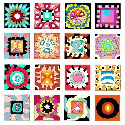 Pattern D-Miguel Balb?s-Giclee Print