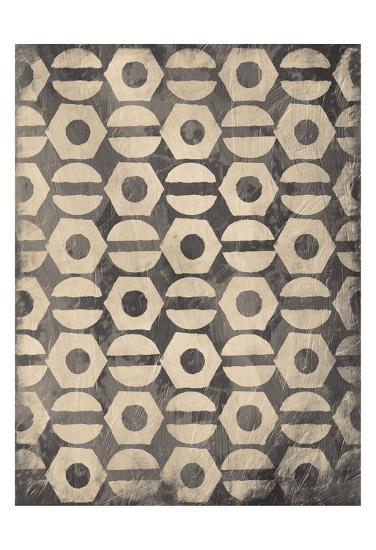 Pattern Gray-Jace Grey-Art Print