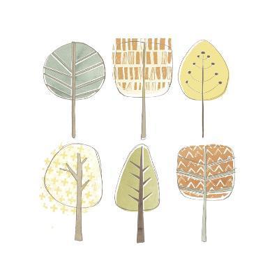 Pattern Grove II-June Erica Vess-Art Print