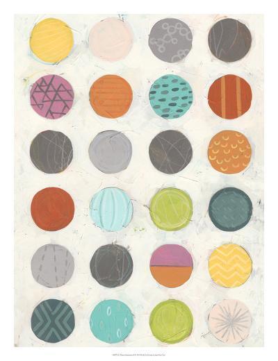 Pattern Interaction II-June Vess-Art Print