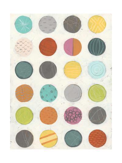Pattern Interaction III-June Vess-Art Print