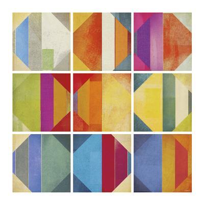 Pattern Tiles II-NOAH-Art Print