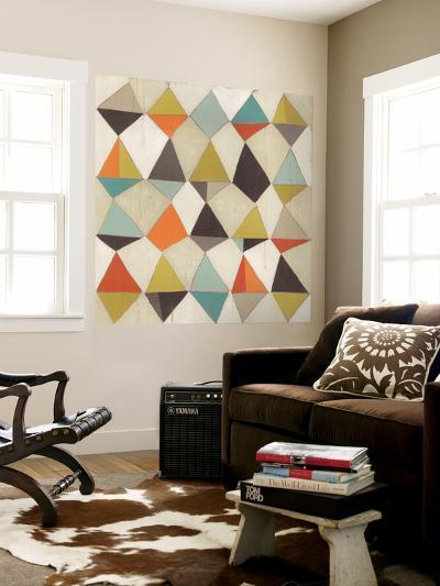 Pattern Undulation III-June Erica Vess-Wall Mural