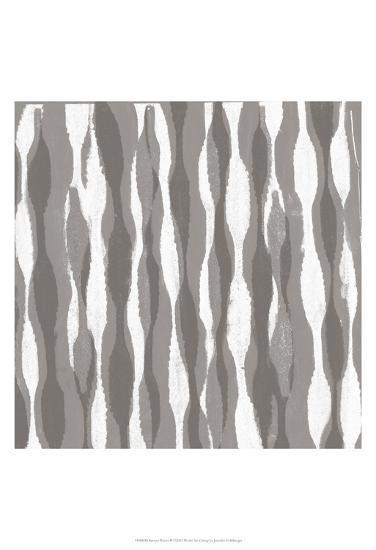 Pattern Waves II-Jennifer Goldberger-Art Print