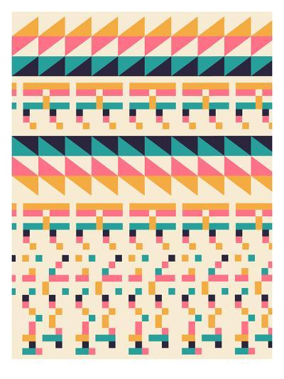 Pattern1-Florent Bodart-Art Print