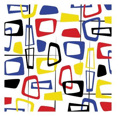 Pattern-Jace Grey-Art Print