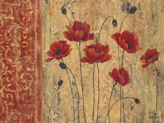 Patterned Anemone-Sandra Smith-Art Print