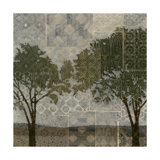 Patterned Arbor I-Megan Meagher-Art Print