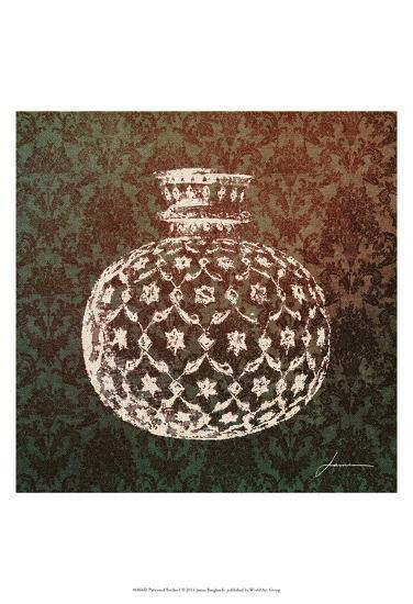 Patterned Bottles I-James Burghardt-Art Print