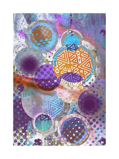 Patterned Circles 3-THE Studio-Premium Giclee Print