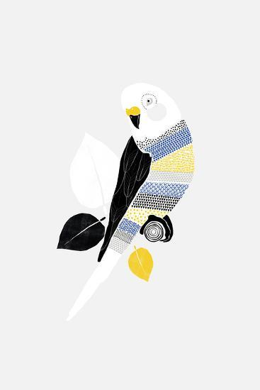 Patterned Paraqueet-Myriam Tebbakha-Giclee Print