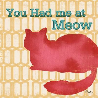Patterned Pets Cat II-Paul Brent-Art Print