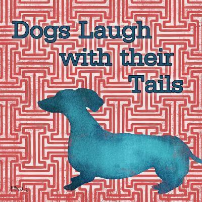 Patterned Pets Dog IV-Paul Brent-Art Print