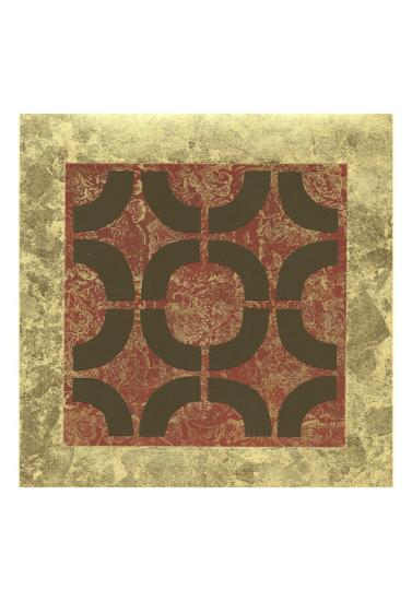 Patterned Symmetry II-Megan Meagher-Art Print