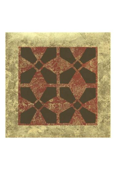 Patterned Symmetry III-Megan Meagher-Art Print