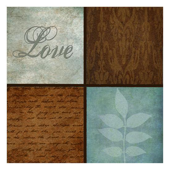 Patterns And Ferns 4 Pack 1-Kristin Emery-Art Print