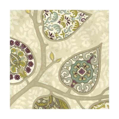 Patterns in Foliage III-June Erica Vess-Art Print