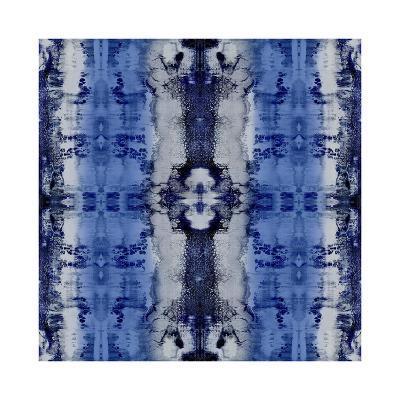 Patterns in Indigo-Ellie Roberts-Giclee Print