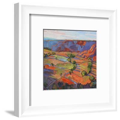 Patterns in Triptych (center)-Erin Hanson-Framed Art Print