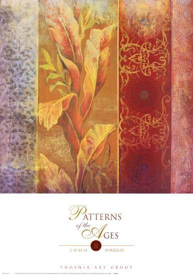 Patterns of the Ages II-John Douglas-Art Print