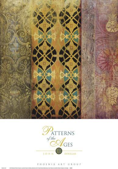 Patterns of the Ages III-John Douglas-Art Print