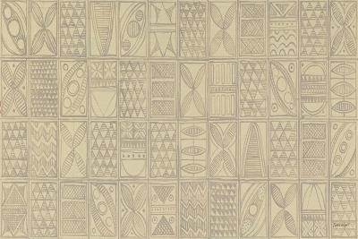 Patterns of the Amazon I-Kathrine Lovell-Art Print