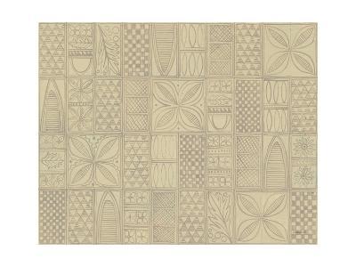 Patterns of the Amazon II-Kathrine Lovell-Art Print