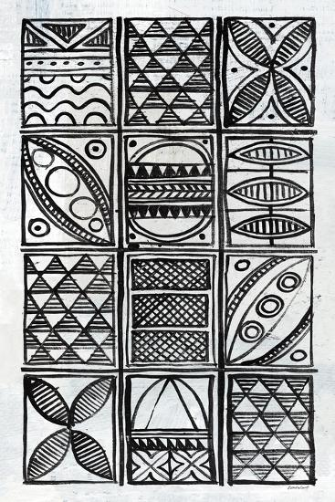 Patterns Of The Amazon VI BW-Kathrine Lovell-Art Print