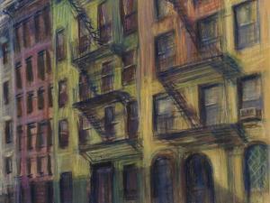 Brownstones by Patti Mollica