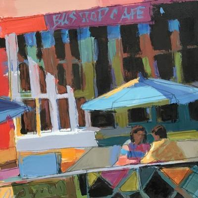 Bus Stop Cafe by Patti Mollica