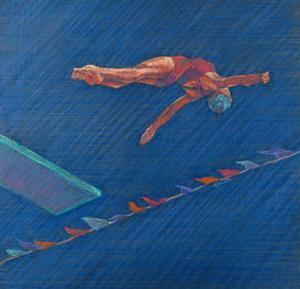 Highboard Diver by Patti Mollica