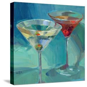 Martini in Aqua by Patti Mollica
