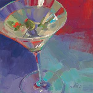 Martini in Plum by Patti Mollica