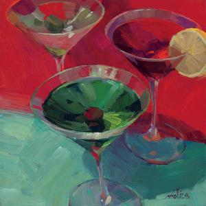 Martini in Red by Patti Mollica
