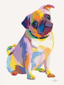 Pug Sketch by Patti Mollica