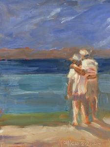 Sunset Couple by Patti Mollica
