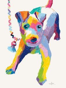 Terrier Sketch by Patti Mollica