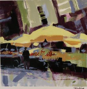 Yellow Umbrellas by Patti Mollica