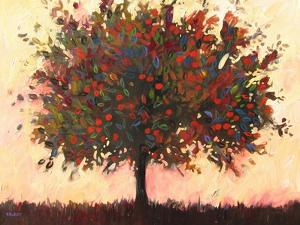 Abstract Apple Tree by Patty Baker